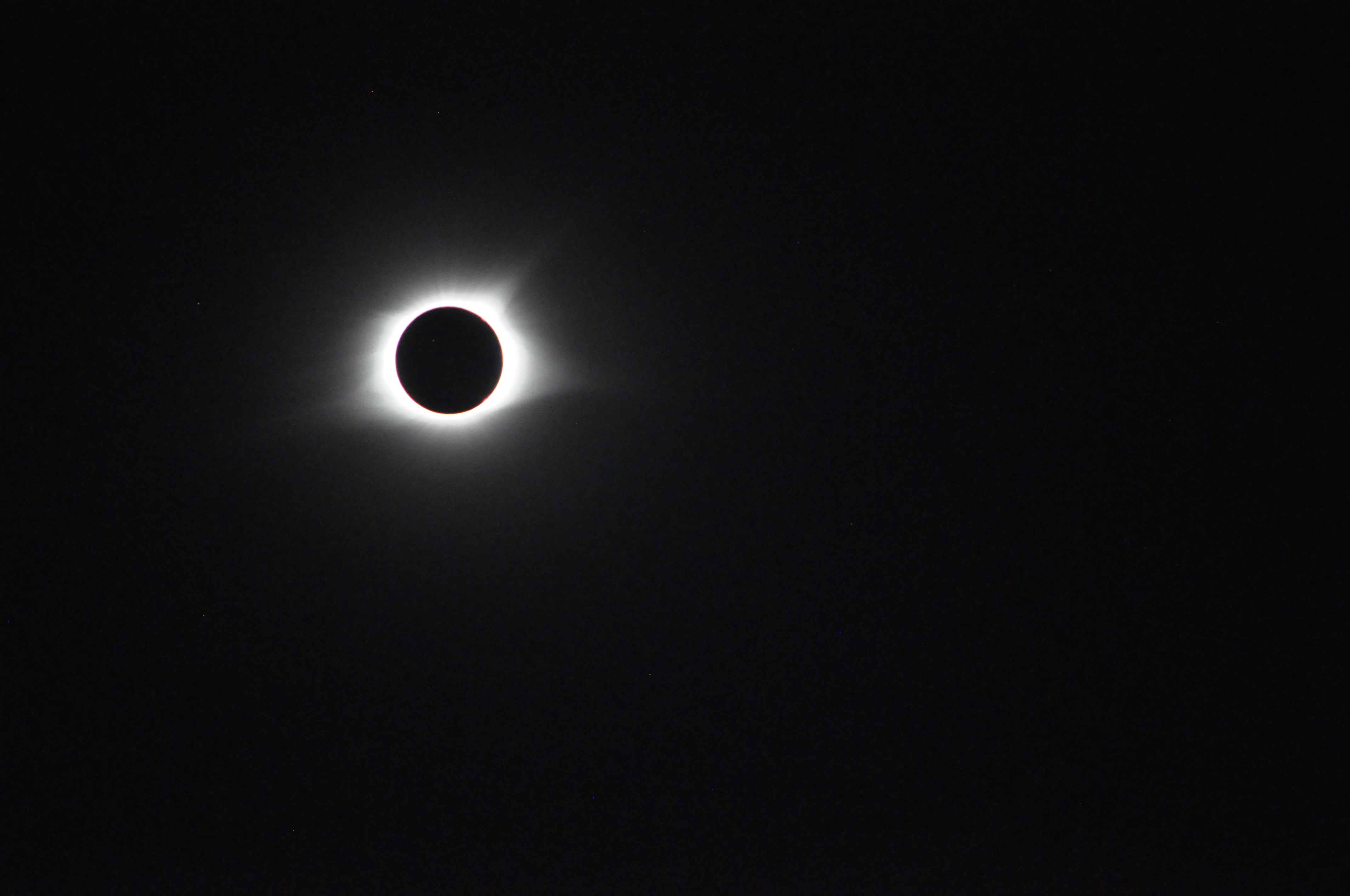 Original Photo of 2017 Total Solar Eclipse by Jodi Camp
